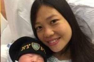 بچه دار شدن این خانم پس از دوسال مرگ همسرش (عکس)