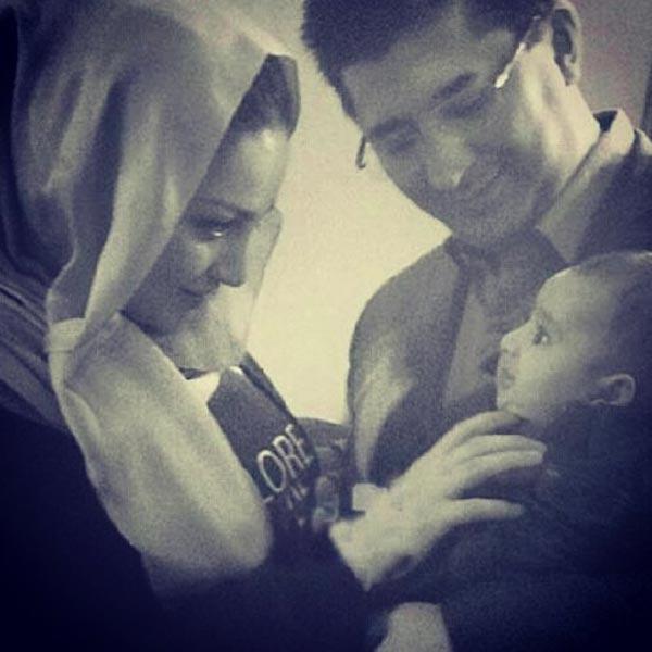 جدیدترین عکسهای بازیگران در کنار همسرانشان