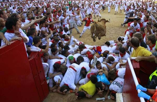 برگزاری جشنواره ترسناک خون و خونریزی (عکس)