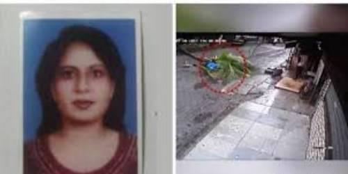 مرگ دردناک و غیرمنتظره این خانم گزارشگر (عکس)