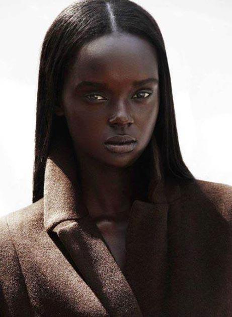 زیبایی این دختر مانکن سیاه پوست همه راشوکه کرد (عکس)