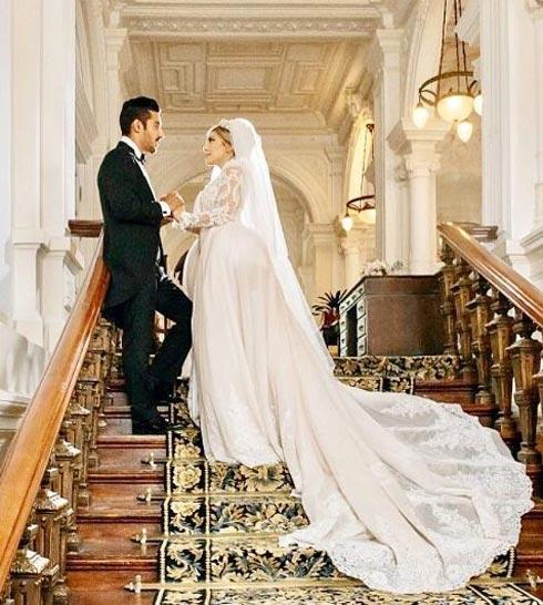 مراسم ازدواج قوچان نژاد توسط کدام برند برگزار شد (عکس)