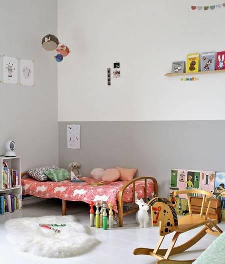 جدیدترین دکوراسیون اتاق کودک با تم خاکستری