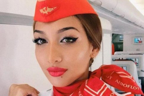 انتخاب یک زن ایرانی به عنوان زیباترین مهماندار (عکس)
