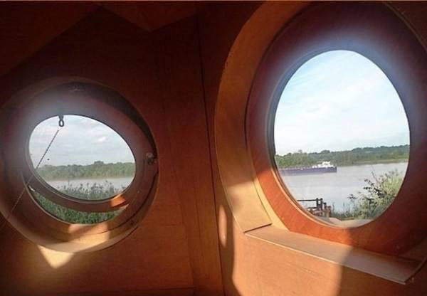 عکسهایی از عجیب ترین و زیباترین خانه ی چوبی