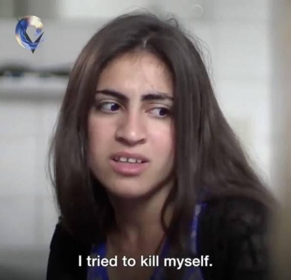حرفهای تلخ این دختر برده جنسی داعشی ها (عکس)