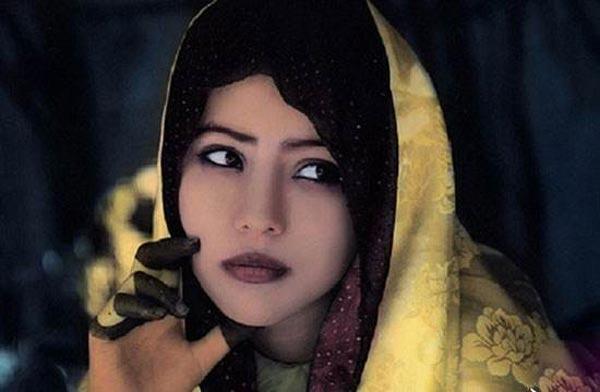 حجاب مردان در این قبیله عجیب اجباریست (عکس)