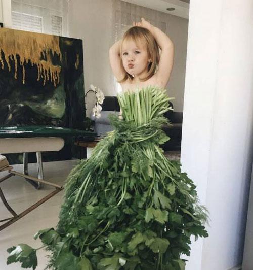 با دیدن این دختر دوست دارید او را بخورید (عکس)