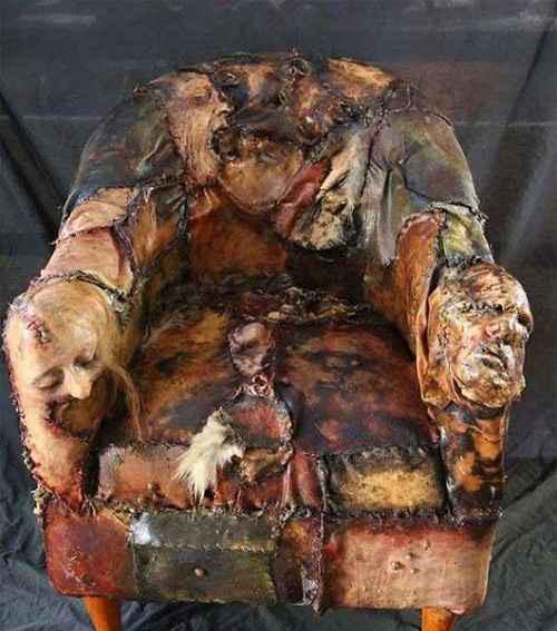 آیا شجاعتش را دارید روی این صندلی بنشینید (عکس)