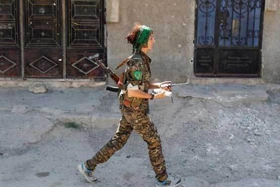 وحشت عجیب داعش از این دختر زیبای کرد (عکس)