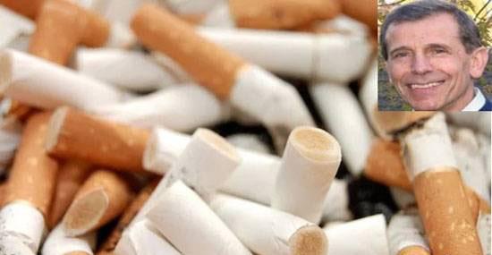 اختراع جالب این دانشمند ایرانی با ته سیگار (عکس)