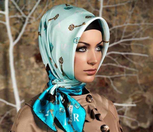 جدیدترین مدلهای بستن روسری اسلامی