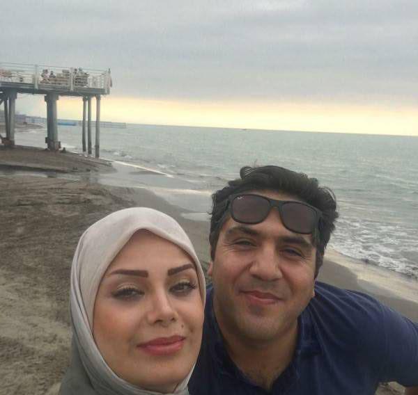 عکس های داغ بازیگران در کنار همسرانشان