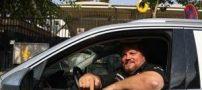 حضور رکورد دارترین راننده دنیا در تهران (عکس)