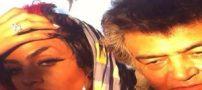 عکس هایی از رضا رویگری و همسر بسیار جوانش