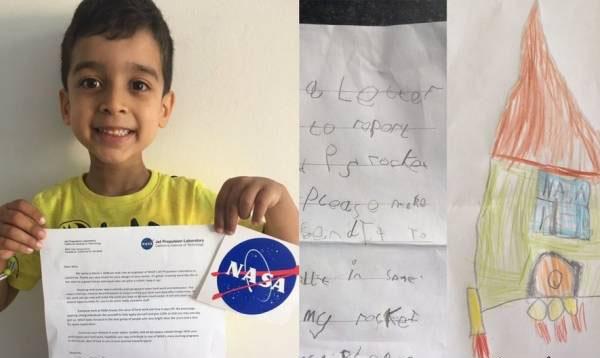 خلاقیت عجیب این کودک ناسا را شوکه کرد (عکس)