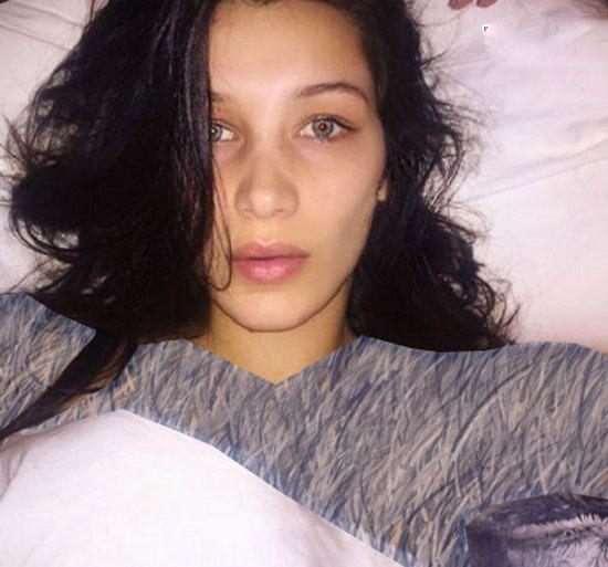 سلفی های دیدنی از زنان هالیوودی بدون آرایش