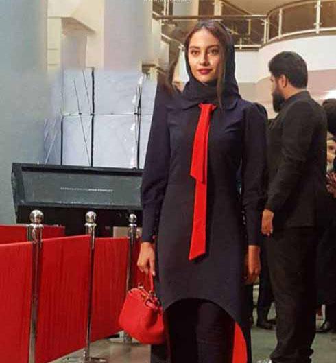 مدل های زیبا از مانتوی بازیگران در جشن حافظ