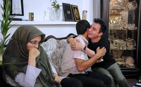 دیدار بسیار صمیمانه عمو پورنگ با خانواده بنیتا (عکس)