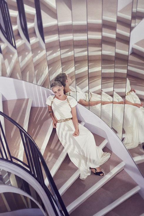 جدیدترین عکس های کریستین استوارت در مجله مد