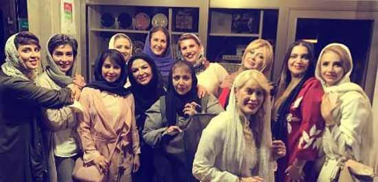 تیپ و ظاهر بازیگران ایرانی در کنسرت شهره (عکس)