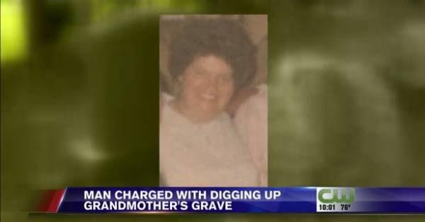 اقدام شرم آور این مرد با جنازه مادر بزرگش (عکس)