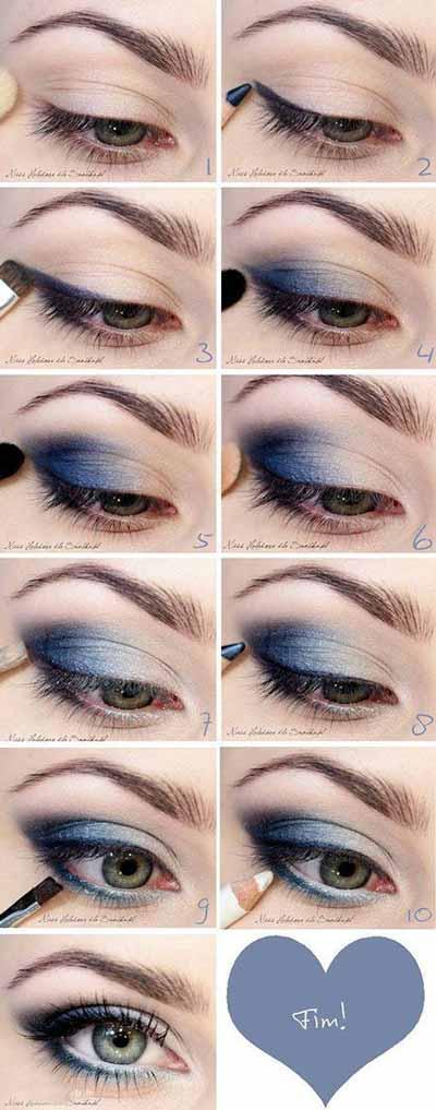 جدیدترین و شیک ترین مدل آرایش چشم (آموزش گام به گام)