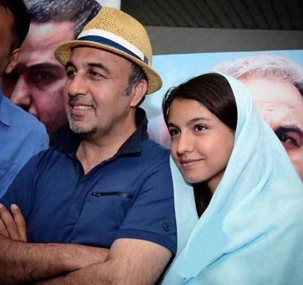عکس های جدید از رضا عطاران در کنار دختر هنرمندش