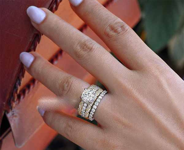 مدلهای بسیار زیبا و لوکس انگشتر