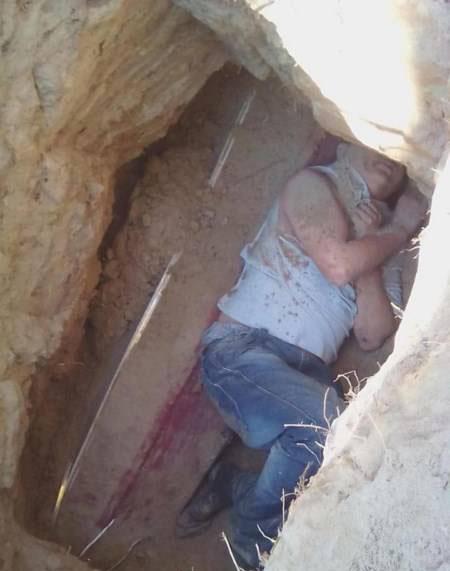 این مرد قبر نامزدش را شکافت تا پیش او بخوابد (عکس)