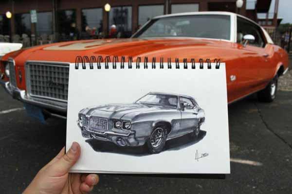 هنر خارق العاده این مرد از دنیای ماشین ها
