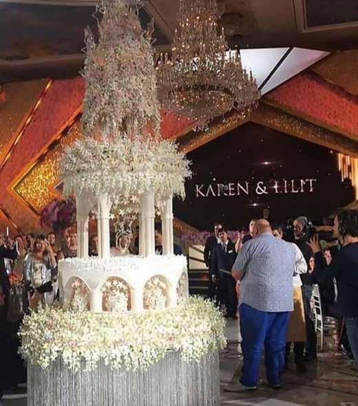 عروسی باشکوه پسر میلیاردر معروف (عکس)