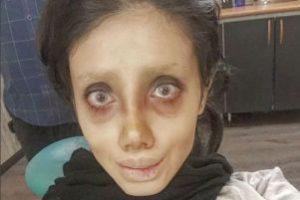 دختر زیبای ایرانی که لقب عروس مردگان را گرفت (عکس)