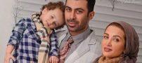 عکس پسر تازه متولد شده روناک یونسی