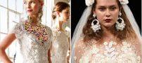 مدل های زیبای گوشواره برای عروس خانم ها