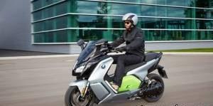 ساخت موتور سیکلت برقی توسط BMW (عکس)