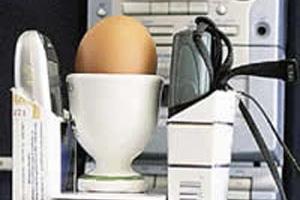 چگونه با دو گوشی تلفن همراه تخم مرغ بپزیم؟