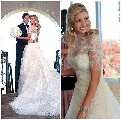 مقایسه جالب ازدواج دختر ترامپ و دختر کلینتون (عکس)
