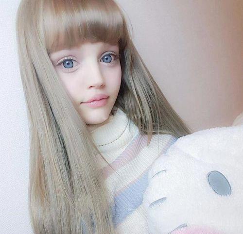 زیبایی این دختر باربی همه را شوکه کرده (عکس)