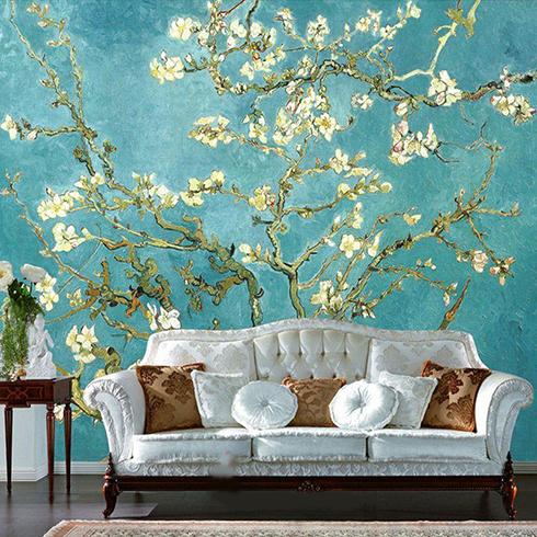 جادوی زیبای این کاغذ دیواری ها در منزلتان
