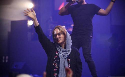 حضور مهناز افشار در کنسرت محمدرضا گلزار (عکس)
