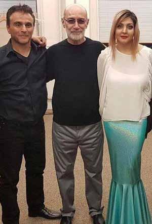 عکس هایی از سیاوش قمیشی در کنار همسرش