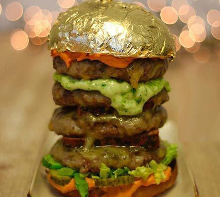 گرانترین همبرگر برای پولدار های تهران (عکس)