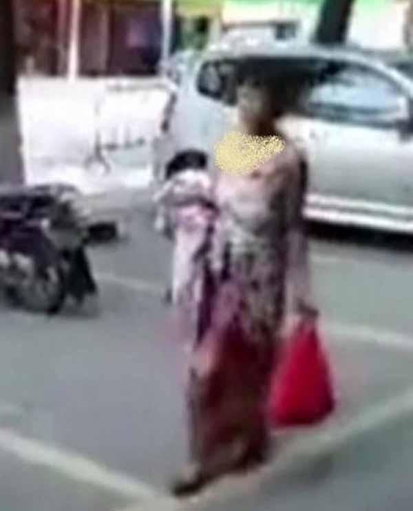 زایمان باورنکردنی این خانم در خیابان (عکس)