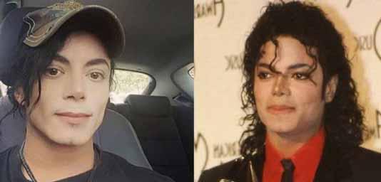 شباهت بی حد این پسر به مایکل جکسون (عکس)