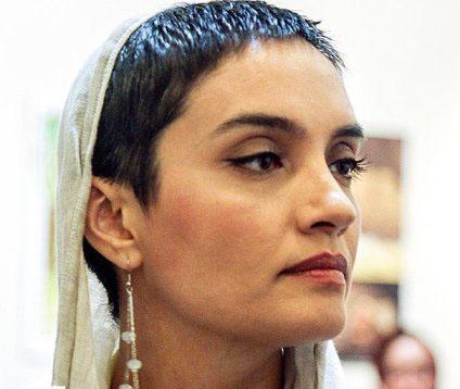 چهره جدید و بسیار جالب از میترا حجار (عکس)