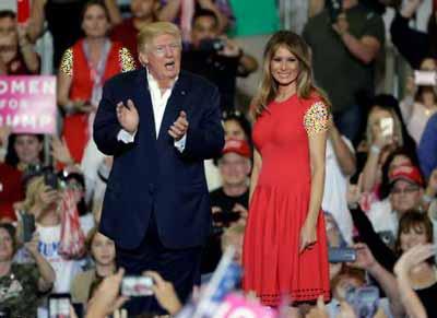پیراهن های شیک و زیبا به سبک ملانیا ترامپ