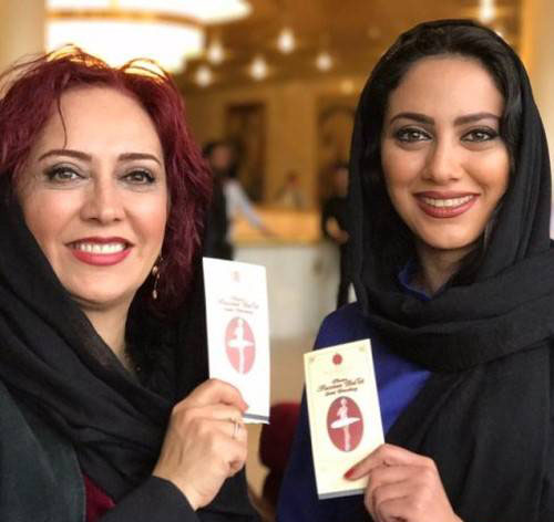 عکس هایی متفاوت از بازیگز زن ایرانی در روسیه