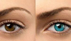 آیا دوست دارید رنگ چشمتان روشن تر شود