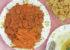 آموزش پخت چلوگوشت گیاهی با هویج